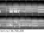 Die moderne Fassade eines Chemiegebäudes und Labors mit stark lichtreflektierenden... Стоковое фото, фотограф Zoonar.com/Bastian Kienitz / easy Fotostock / Фотобанк Лори