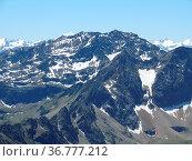 Hochreichkopf, stubaier alpen, alpen,berg, berge,gipfel, hochgebirge... Стоковое фото, фотограф Zoonar.com/Volker Rauch / easy Fotostock / Фотобанк Лори