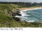 Der Strand von Chevrets in Saint-Coulomb, Bretagne, Frankreich | ... Стоковое фото, фотограф Peter Schickert / age Fotostock / Фотобанк Лори