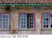 Fenster mediterran - window mediterranean 01. Стоковое фото, фотограф Zoonar.com/LianeM / easy Fotostock / Фотобанк Лори