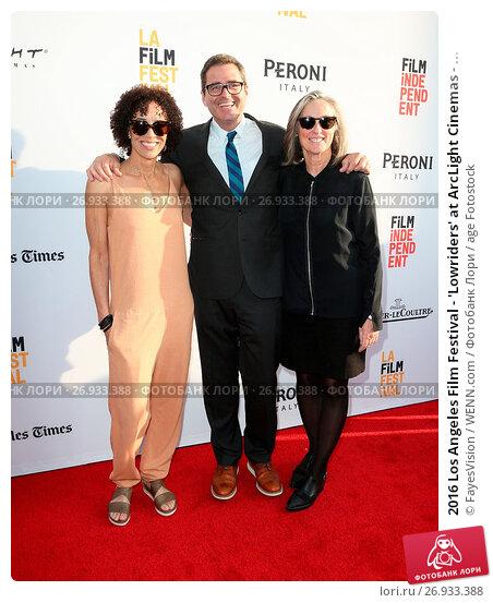 Купить «2016 Los Angeles Film Festival - 'Lowriders' at ArcLight Cinemas - Arrivals Featuring: Stephanie Allain, Josh Welsh, Guest Where: Hollywood, California...», фото № 26933388, снято 1 июня 2016 г. (c) age Fotostock / Фотобанк Лори