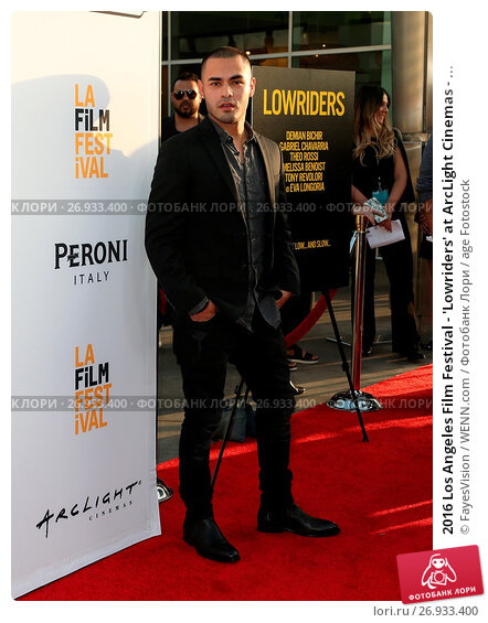 Купить «2016 Los Angeles Film Festival - 'Lowriders' at ArcLight Cinemas - Arrivals Featuring: Gabriel Chavarria Where: Hollywood, California, United States When: 01 Jun 2016 Credit: FayesVision/WENN.com», фото № 26933400, снято 1 июня 2016 г. (c) age Fotostock / Фотобанк Лори