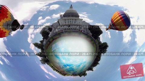 Купить «360_Washington DC», видеоролик № 28471296, снято 28 мая 2018 г. (c) Вадим Кузьменко / Фотобанк Лори