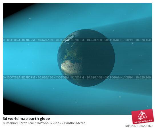 3d world map earth globe. Стоковое фото, фотограф manuel Perez Leal / PantherMedia / Фотобанк Лори