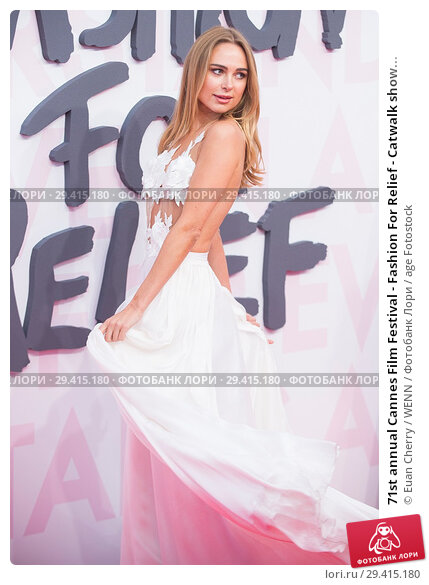 Купить «71st annual Cannes Film Festival - Fashion For Relief - Catwalk show & Afterparty Featuring: Kimberley Garner Where: Cannes, France When: 13 May 2018 Credit: Euan Cherry/WENN.», фото № 29415180, снято 13 мая 2018 г. (c) age Fotostock / Фотобанк Лори