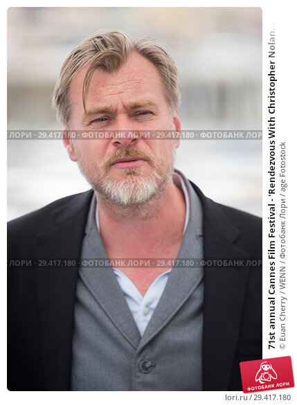 Купить «71st annual Cannes Film Festival - 'Rendezvous With Christopher Nolan' - Photocall Featuring: Christopher Nolan Where: Cannes, France When: 12 May 2018 Credit: Euan Cherry/WENN.», фото № 29417180, снято 12 мая 2018 г. (c) age Fotostock / Фотобанк Лори