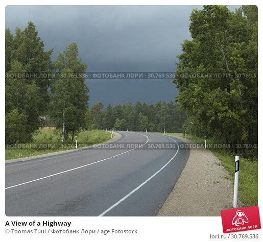 Купить «A View of a Highway», фото № 30769536, снято 25 мая 2019 г. (c) age Fotostock / Фотобанк Лори
