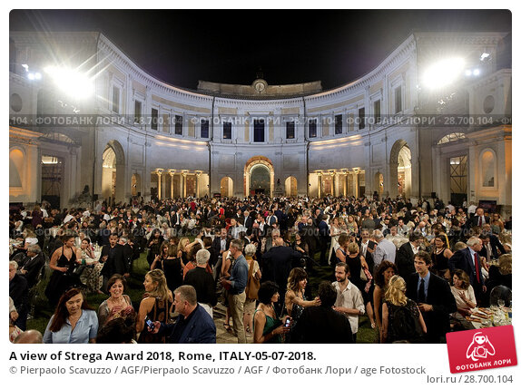 Купить «A view of Strega Award 2018, Rome, ITALY-05-07-2018.», фото № 28700104, снято 5 июля 2018 г. (c) age Fotostock / Фотобанк Лори