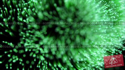 Купить «Abstract background of green particles shallow depth of field», видеоролик № 30616380, снято 5 ноября 2016 г. (c) Uladzimir Sitkouski / Фотобанк Лори