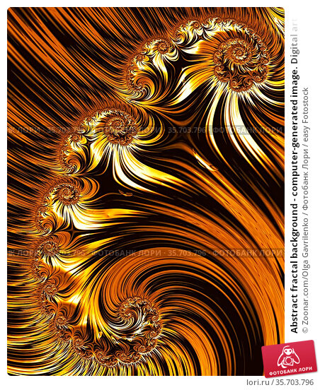Abstract fractal background - computer-generated image. Digital art... Стоковое фото, фотограф Zoonar.com/Olga Gavrilenko / easy Fotostock / Фотобанк Лори