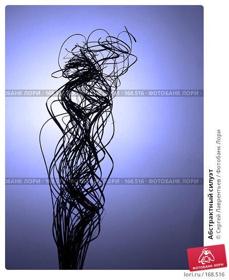 Абстрактный силуэт, фото № 168516, снято 24 апреля 2003 г. (c) Сергей Лаврентьев / Фотобанк Лори
