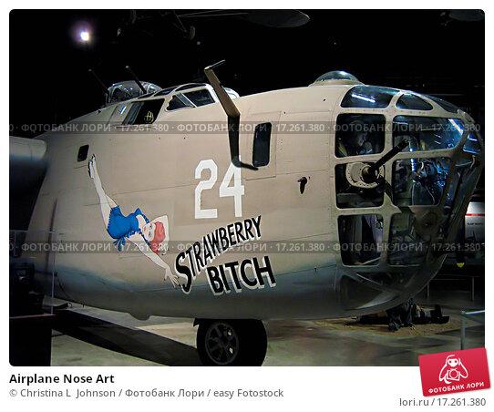 Купить «Airplane Nose Art», фото № 17261380, снято 18 апреля 2018 г. (c) easy Fotostock / Фотобанк Лори