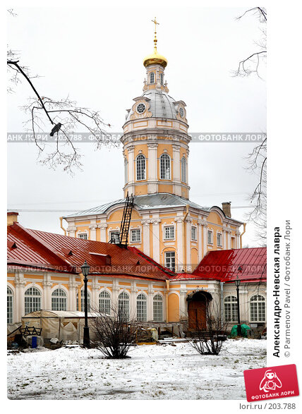 Александро-Невская лавра, фото № 203788, снято 8 февраля 2008 г. (c) Parmenov Pavel / Фотобанк Лори