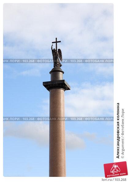 Александровская колонна, фото № 103268, снято 27 марта 2017 г. (c) Argument / Фотобанк Лори
