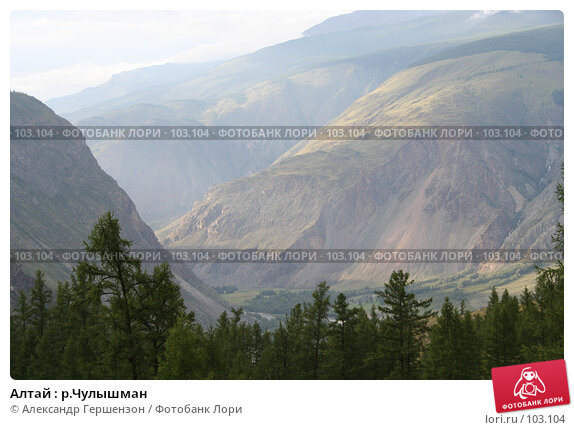 Алтай : р.Чулышман, фото № 103104, снято 22 мая 2017 г. (c) Александр Гершензон / Фотобанк Лори