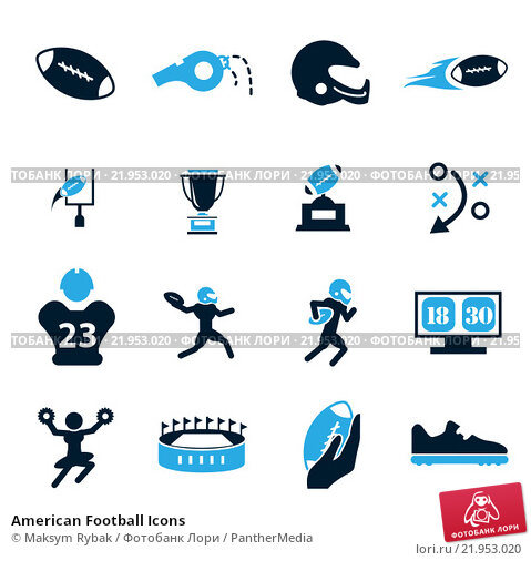 American football Icons  Download 155 Free American