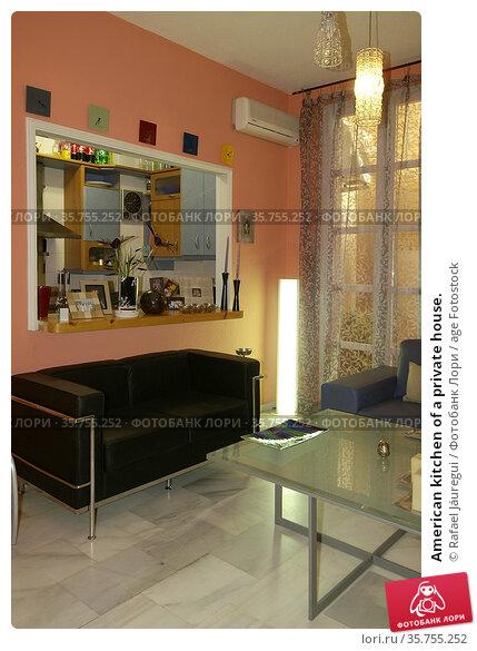 American kitchen of a private house. Стоковое фото, фотограф Rafael Jáuregui / age Fotostock / Фотобанк Лори
