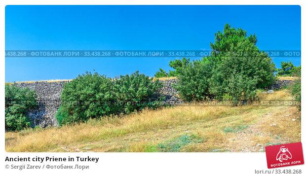 Купить «Ancient city Priene in Turkey», фото № 33438268, снято 20 июля 2019 г. (c) Sergii Zarev / Фотобанк Лори