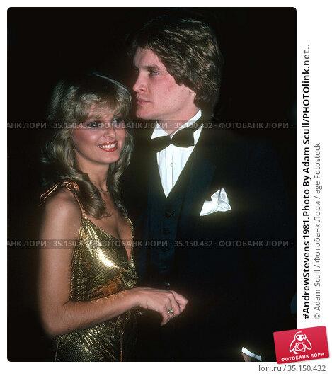 #AndrewStevens 1981.Photo By Adam Scull/PHOTOlink.net.. Редакционное фото, фотограф Adam Scull / age Fotostock / Фотобанк Лори