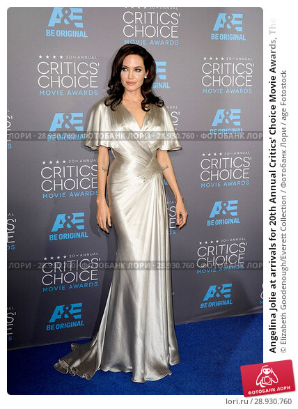 Купить «Angelina Jolie at arrivals for 20th Annual Critics' Choice Movie Awards, The Hollywood Palladium, Los Angeles, CA January 15, 2015. Photo By: Elizabeth Goodenough/Everett Collection», фото № 28930760, снято 15 января 2015 г. (c) age Fotostock / Фотобанк Лори
