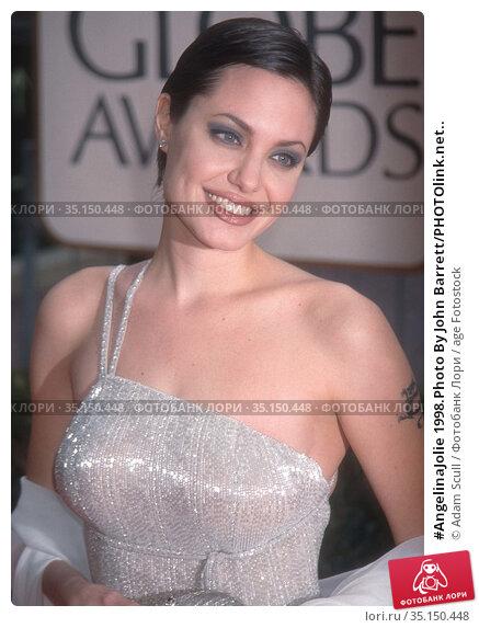 #AngelinaJolie 1998.Photo By John Barrett/PHOTOlink.net.. Редакционное фото, фотограф Adam Scull / age Fotostock / Фотобанк Лори