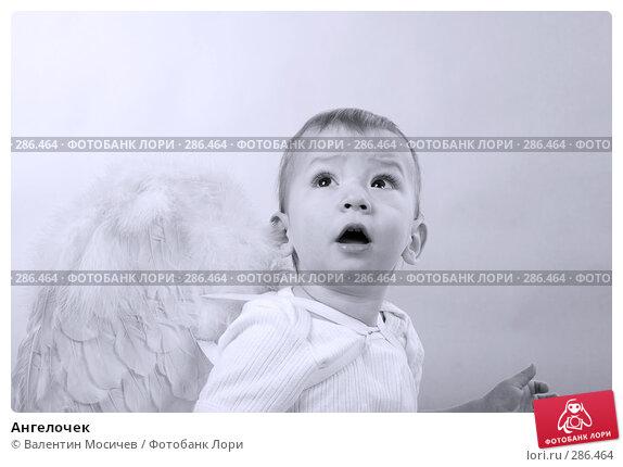 Купить «Ангелочек», фото № 286464, снято 8 января 2008 г. (c) Валентин Мосичев / Фотобанк Лори