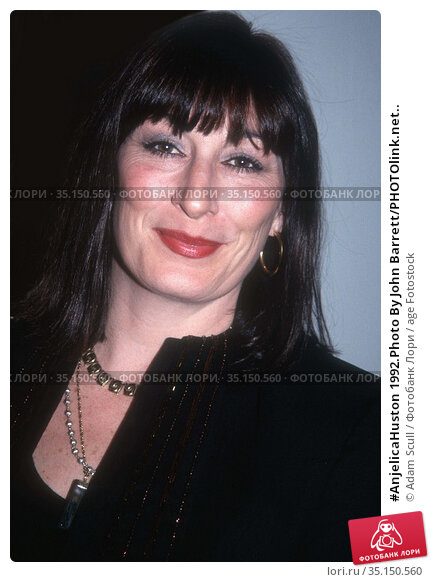 #AnjelicaHuston 1992.Photo By John Barrett/PHOTOlink.net.. Редакционное фото, фотограф Adam Scull / age Fotostock / Фотобанк Лори