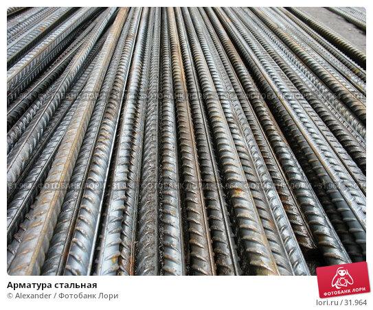 Арматура стальная, фото № 31964, снято 11 апреля 2007 г. (c) Alexander / Фотобанк Лори
