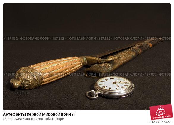 Артефакты первой мировой войны, фото № 187832, снято 6 января 2008 г. (c) Яков Филимонов / Фотобанк Лори