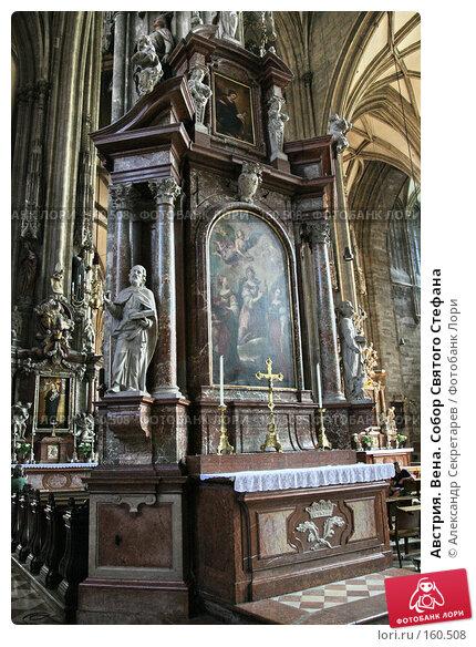 Австрия. Вена. Собор Святого Стефана, фото № 160508, снято 14 июля 2007 г. (c) Александр Секретарев / Фотобанк Лори