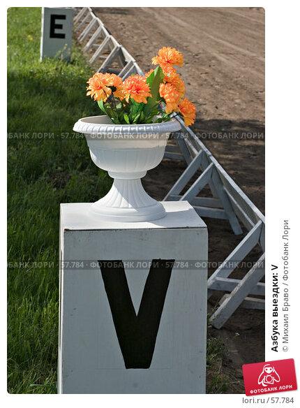 Купить «Азбука выездки: V», фото № 57784, снято 1 июня 2007 г. (c) Михаил Браво / Фотобанк Лори