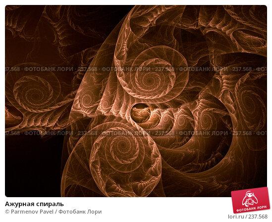 Ажурная спираль, иллюстрация № 237568 (c) Parmenov Pavel / Фотобанк Лори