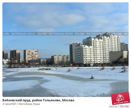 Бабаевский пруд, район Гольяново, Москва, эксклюзивное фото № 256096, снято 10 марта 2008 г. (c) lana1501 / Фотобанк Лори