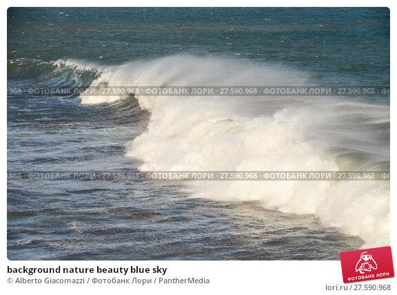 Купить «background nature beauty blue sky», фото № 27590968, снято 23 июля 2019 г. (c) PantherMedia / Фотобанк Лори