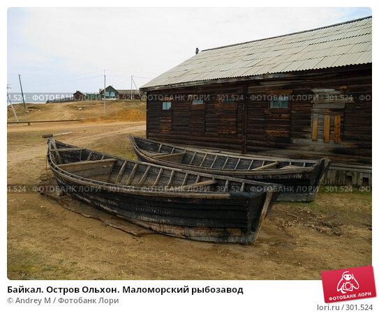 Купить «Байкал. Остров Ольхон. Маломорский рыбозавод», фото № 301524, снято 7 сентября 2007 г. (c) Andrey M / Фотобанк Лори