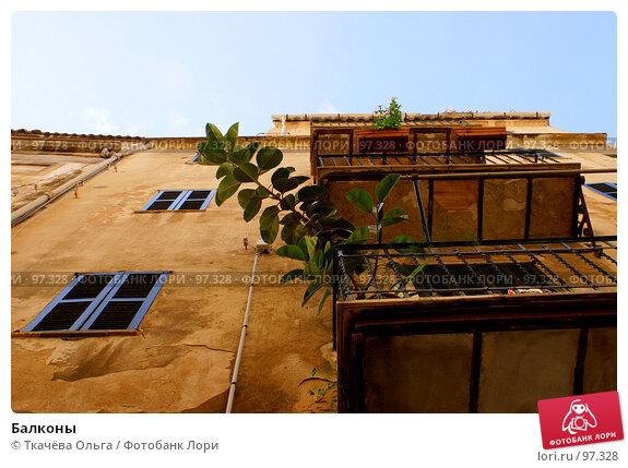 Балконы, фото № 97328, снято 21 сентября 2007 г. (c) Ткачёва Ольга / Фотобанк Лори