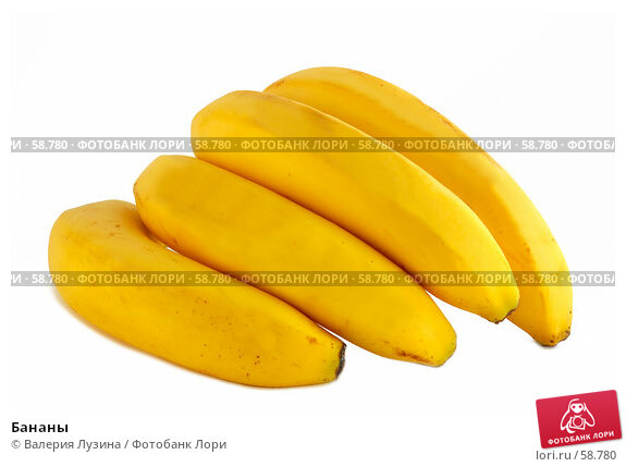 Бананы, фото № 58780, снято 26 июня 2007 г. (c) Валерия Потапова / Фотобанк Лори