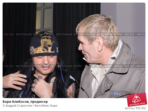 Бари Алибасов, продюсер, фото № 131312, снято 24 ноября 2007 г. (c) Андрей Старостин / Фотобанк Лори
