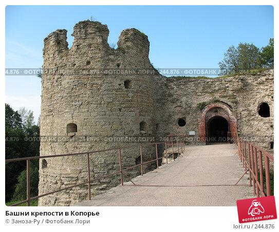 Башни крепости в Копорье, фото № 244876, снято 12 августа 2007 г. (c) Заноза-Ру / Фотобанк Лори