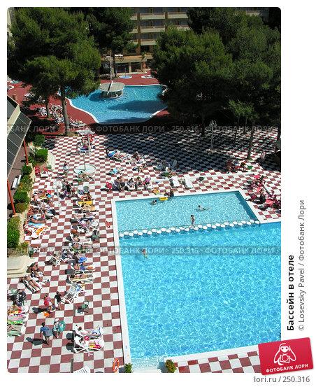 Бассейн в отеле, фото № 250316, снято 6 мая 2005 г. (c) Losevsky Pavel / Фотобанк Лори