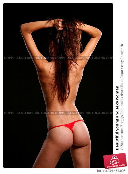 Beautiful young and sexy woman. Стоковое фото, фотограф Zoonar.com/Sergejs Rahunoks / easy Fotostock / Фотобанк Лори