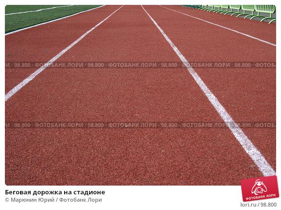 Беговая дорожка на стадионе, фото № 98800, снято 21 июля 2007 г. (c) Марюнин Юрий / Фотобанк Лори