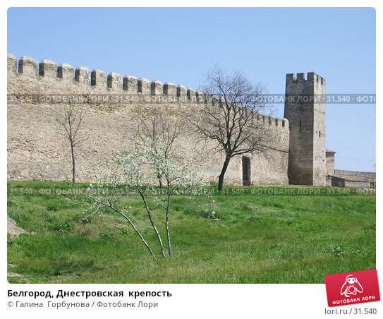 Белгород, Днестровская  крепость, фото № 31540, снято 30 апреля 2005 г. (c) Галина  Горбунова / Фотобанк Лори