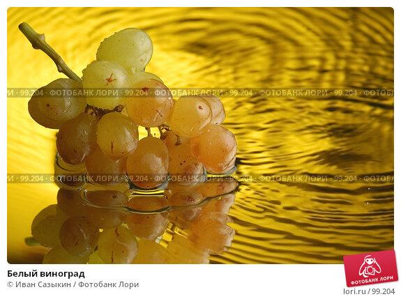 Белый виноград, фото № 99204, снято 6 декабря 2003 г. (c) Иван Сазыкин / Фотобанк Лори