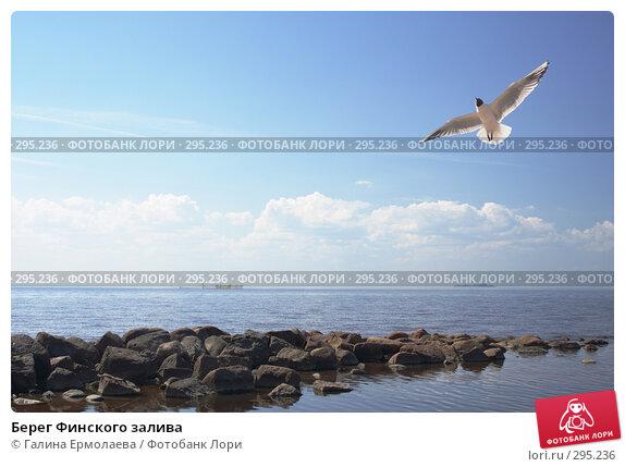 Купить «Берег Финского залива», фото № 295236, снято 11 мая 2008 г. (c) Галина Ермолаева / Фотобанк Лори
