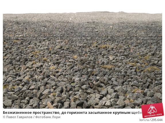 Купить «Безжизненное пространство, до горизонта засыпанное крупным щебнем», фото № 295644, снято 30 апреля 2008 г. (c) Павел Гаврилов / Фотобанк Лори