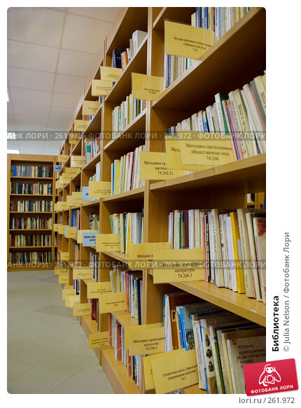 Библиотека, фото № 261972, снято 23 апреля 2008 г. (c) Julia Nelson / Фотобанк Лори