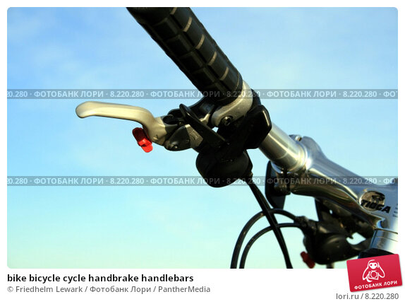 Купить «bike bicycle cycle handbrake handlebars», фото № 8220280, снято 17 февраля 2019 г. (c) PantherMedia / Фотобанк Лори