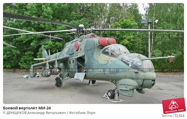 Боевой вертолёт МИ-24, фото № 72824, снято 20 июня 2007 г. (c) ДЕНЩИКОВ Александр Витальевич / Фотобанк Лори