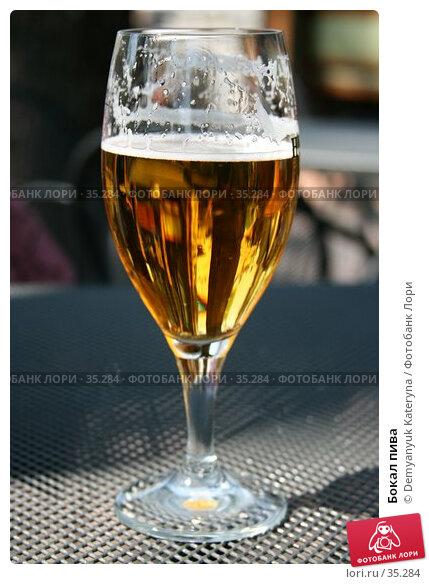 Бокал пива, фото № 35284, снято 17 апреля 2007 г. (c) Demyanyuk Kateryna / Фотобанк Лори